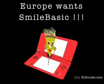 Europe wants SmileBasic